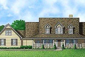 Farmhouse Exterior - Front Elevation Plan #67-137
