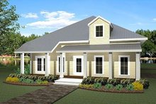 House Plan Design - Traditional Exterior - Front Elevation Plan #44-163