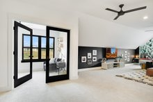 Architectural House Design - Bonus Office & Media Room