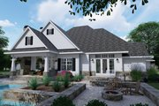 Farmhouse Style House Plan - 3 Beds 2.5 Baths 2504 Sq/Ft Plan #120-255 Exterior - Rear Elevation