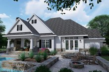 Dream House Plan - Left Rear