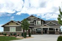 Dream House Plan - Craftsman Exterior - Front Elevation Plan #1069-11