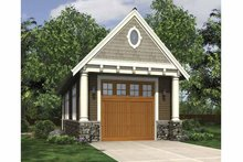 Dream House Plan - Exterior - Front Elevation Plan #48-885