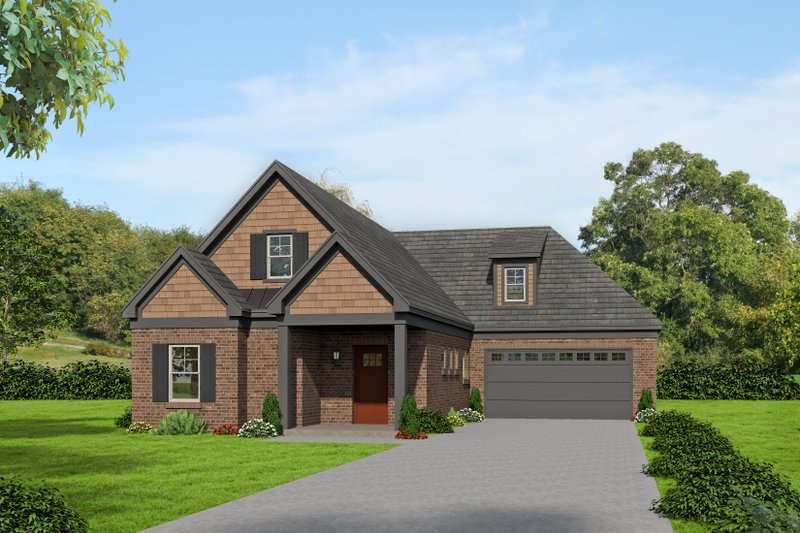 Home Plan - Country Exterior - Front Elevation Plan #932-259