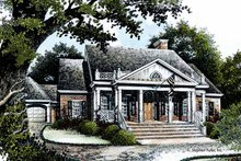 House Design - Country Exterior - Front Elevation Plan #429-363