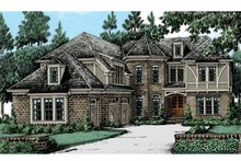Tudor Exterior - Front Elevation Plan #927-423