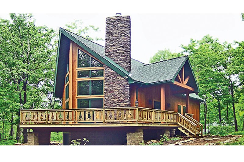 Exterior - Front Elevation Plan #314-285 - Houseplans.com