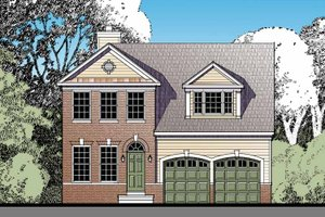 House Plan Design - Traditional Exterior - Front Elevation Plan #1029-59