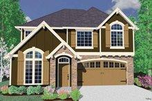 Craftsman Exterior - Front Elevation Plan #509-430