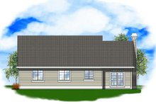 Traditional Exterior - Rear Elevation Plan #48-121