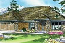 Dream House Plan - Craftsman Exterior - Front Elevation Plan #124-773