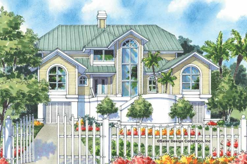 Traditional Exterior - Front Elevation Plan #930-130 - Houseplans.com