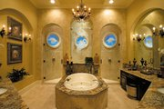 Mediterranean Style House Plan - 6 Beds 4.5 Baths 4391 Sq/Ft Plan #930-355 Interior - Master Bathroom