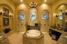 Mediterranean Interior - Master Bathroom Plan #930-355