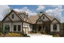 Home Plan - Traditional Exterior - Front Elevation Plan #54-356
