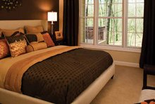 Dream House Plan - Country Interior - Master Bedroom Plan #929-701