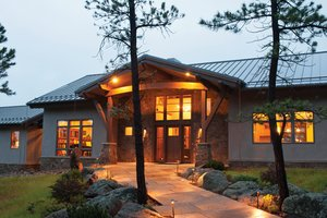 Craftsman Exterior - Front Elevation Plan #1042-15