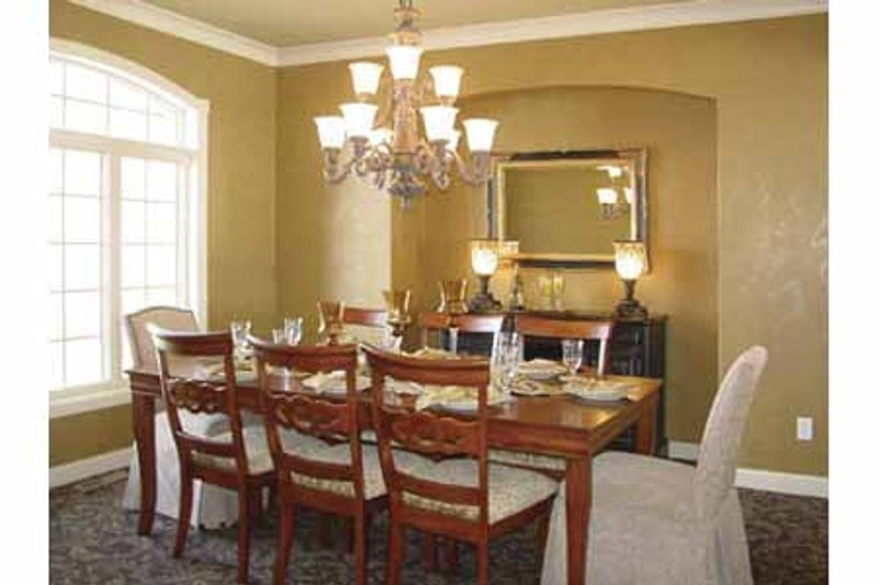 European Interior - Dining Room Plan #320-994 - Houseplans.com