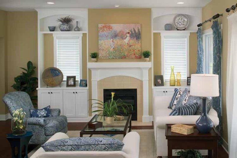 Traditional Interior - Family Room Plan #928-115 - Houseplans.com