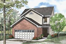 Country Exterior - Front Elevation Plan #17-3062