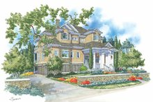 House Plan Design - Traditional Exterior - Front Elevation Plan #930-114