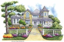 Architectural House Design - Victorian Exterior - Front Elevation Plan #930-165