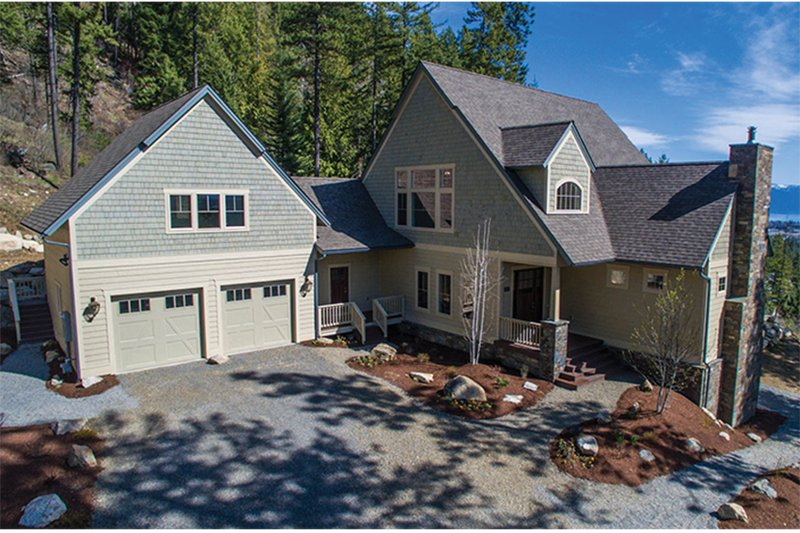 Craftsman Exterior - Front Elevation Plan #928-280 - Houseplans.com