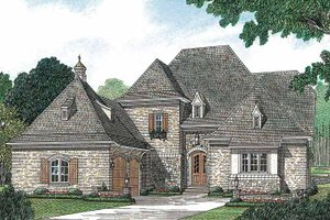 House Design - European Exterior - Front Elevation Plan #453-156