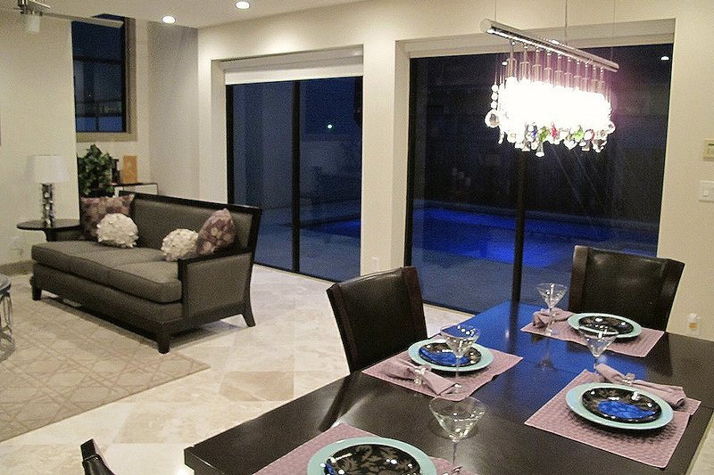 Dining Room - 2600 square foot Modern home