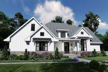 Home Plan Design - Farmhouse Exterior - Front Elevation Plan #120-259