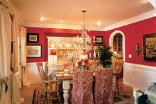 Colonial Interior - Dining Room Plan #927-393