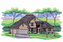 House Design - Colonial Exterior - Front Elevation Plan #51-1037