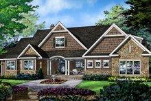 House Plan Design - Craftsman Exterior - Front Elevation Plan #929-997
