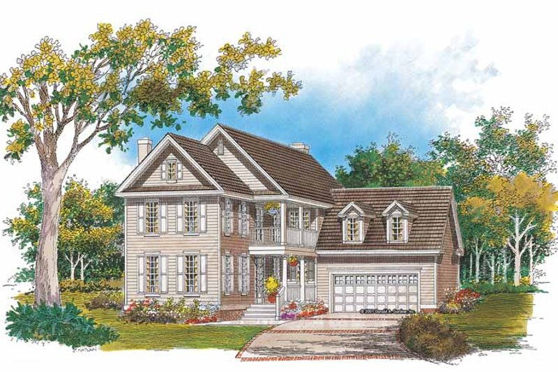 Classical Exterior - Front Elevation Plan #929-643 - Houseplans.com