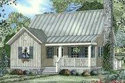 Farmhouse Style House Plan - 2 Beds 2 Baths 1178 Sq/Ft Plan #17-2020