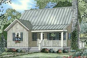 Farmhouse Exterior - Front Elevation Plan #17-2020