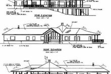 Traditional Exterior - Rear Elevation Plan #60-469