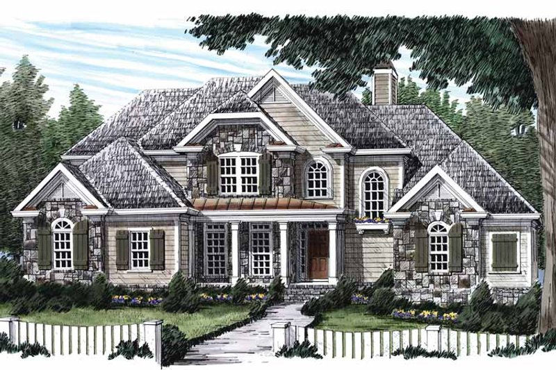 Country Exterior - Front Elevation Plan #927-567 - Houseplans.com