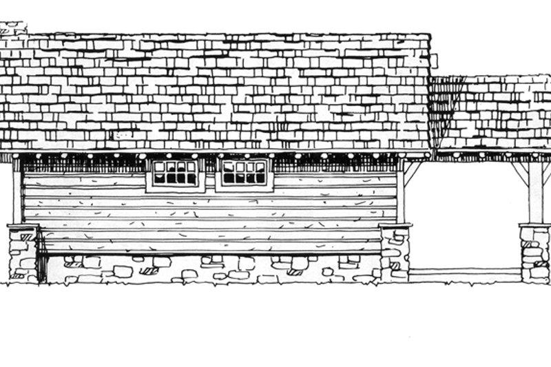 Cabin Exterior - Other Elevation Plan #942-14 - Houseplans.com