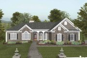 Craftsman Style House Plan - 4 Beds 2.5 Baths 2000 Sq/Ft Plan #56-689 Exterior - Front Elevation