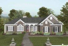 Craftsman Exterior - Front Elevation Plan #56-689