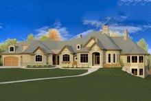 House Plan Design - European Exterior - Front Elevation Plan #920-63