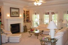 Architectural House Design - Country Interior - Family Room Plan #44-202