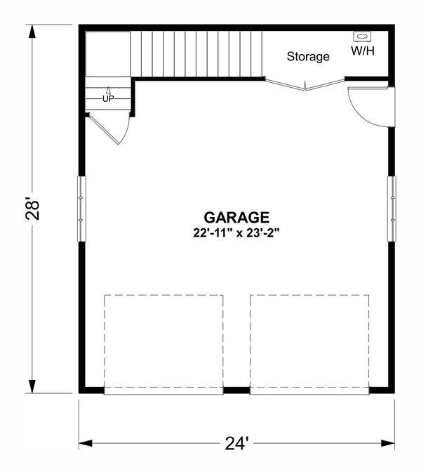 Country Floor Plan - Main Floor Plan Plan #56-703