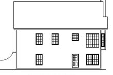 Country Exterior - Rear Elevation Plan #927-149