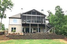 Craftsman Exterior - Rear Elevation Plan #437-76