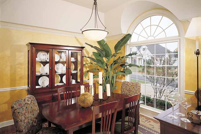 Country Interior - Dining Room Plan #929-377 - Houseplans.com