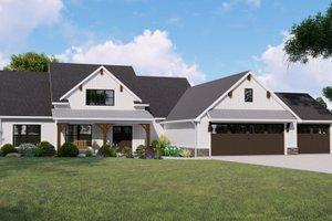 Farmhouse Exterior - Front Elevation Plan #1064-124