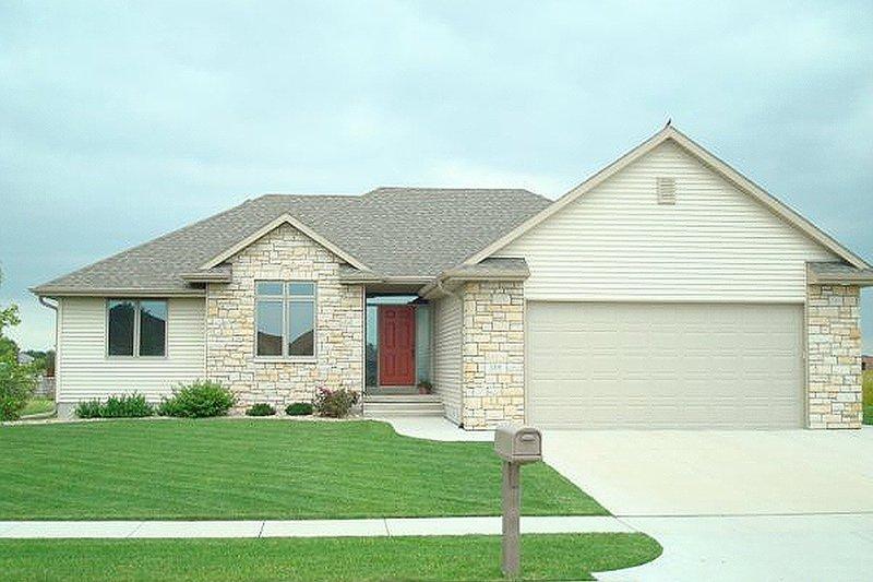 European style, house elevation