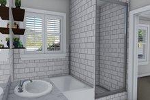 Ranch Interior - Master Bathroom Plan #1060-39